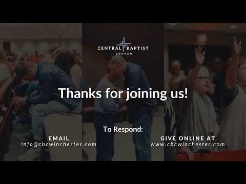 Central Baptist Church: Live! - 04/05/2020
