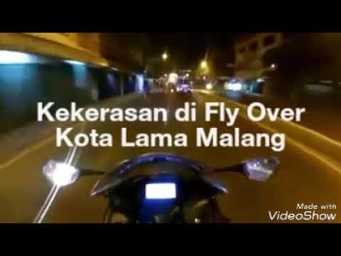 Viral Kekerasan Terjadi Di Fly Over Kota Malang Youtube