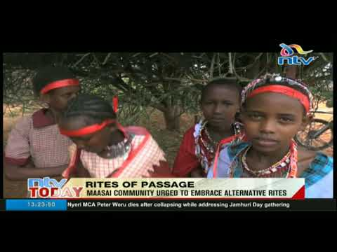 Maasai Community urged to embrace alternative rites of passage