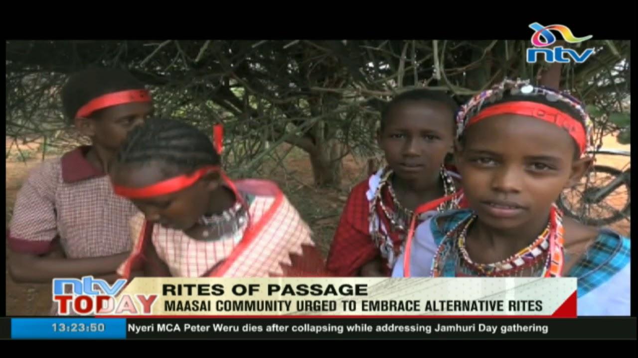 Maasai Community urged to embrace alternative rites of passage