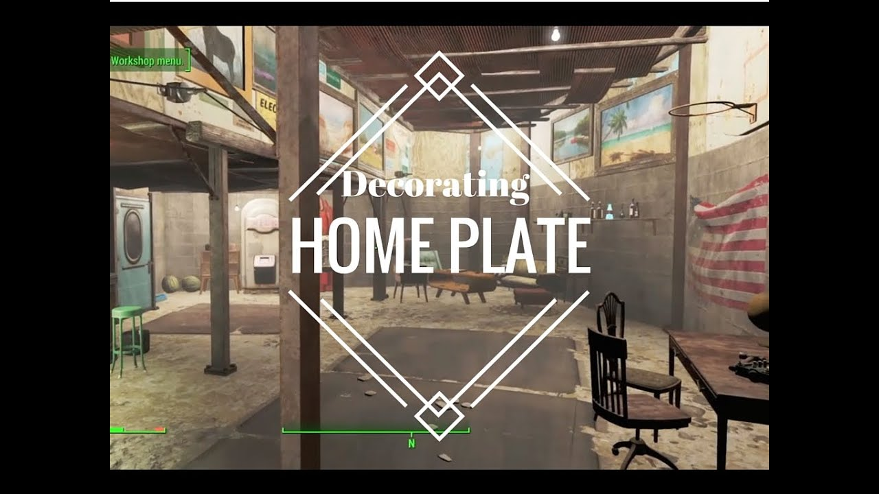 decorating home plate fallout 4 settlement building