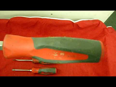1efa958a2 EBAY AUCTION  SNAP-ON 7PC SCREWDRIVER SET (4 FLATHEAD