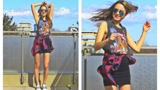 Модные тенденции весны ♥ шотландка (наряд дня)