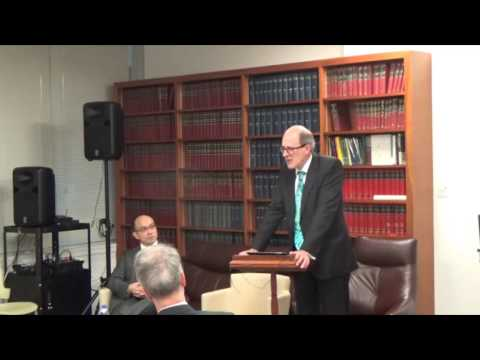 08/12/16  Matthew Palmer: The Judiciary and the Legal Academy