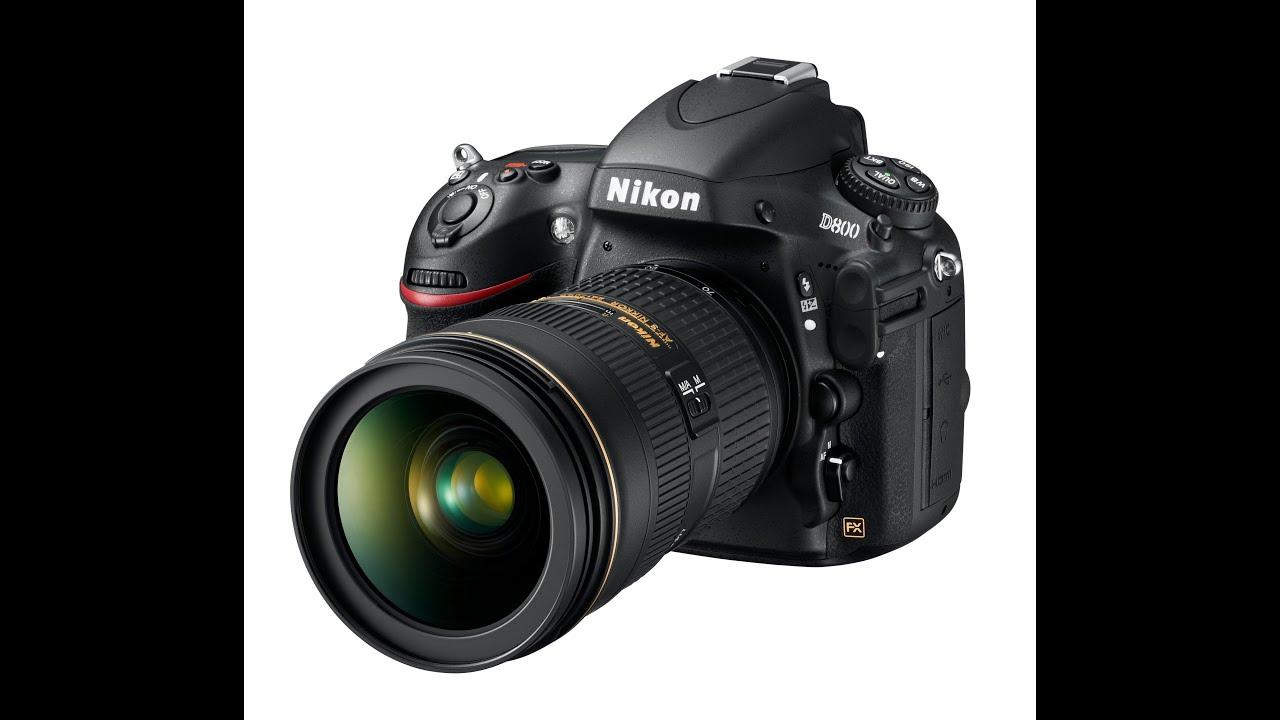 Скачать инструкцию Nikon D800