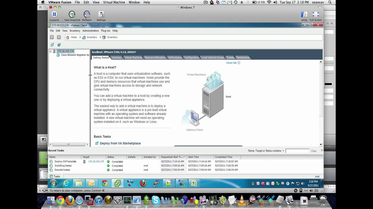 Deploy an OVA or OVF Template on VMware ESXi - YouTube