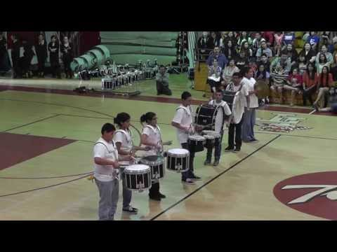 Holtville Middle School Drum Line 05 12 2014
