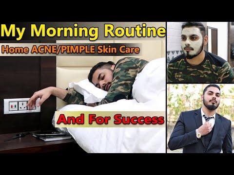 My Morning Routine For Acne Skin Care & Success | Skin Care + Business | Asad Ansari