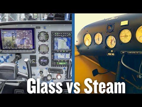 Glass vs Steam - MzeroA Flight Training
