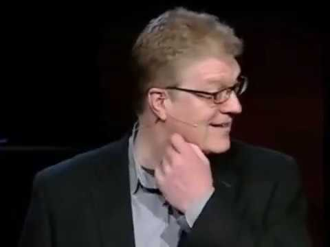 SIR KEN ROBINSON'S HUMOROUS TED TALK ON CREATIVITY AND EDUCATION