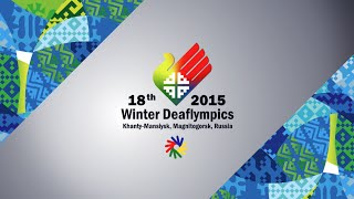 DEAFLYMPICS 2015: Highlights of 2015 Winter Deaflympics