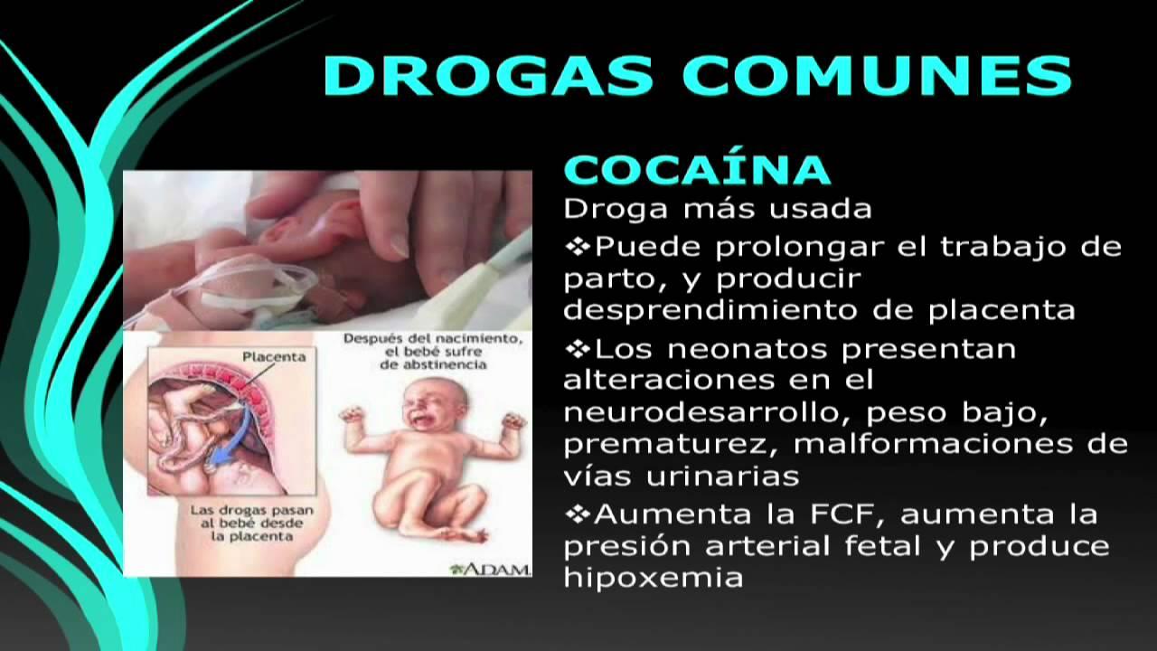 Efectos de drogas en adolescentes