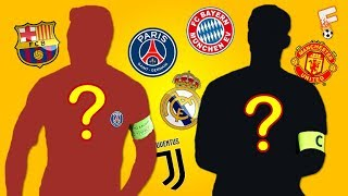 Can You Identify These 30 Football Clubs' Captains?  2017 QUIZ ⚽ Footchampion