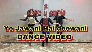 Ye jawani hai deewani | Dance video | choreography by - Aj arya | BUG DANCE STUDIO