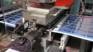 Spartanics M500-238 Web-Feed Automatic Card Punching System - VIDEO