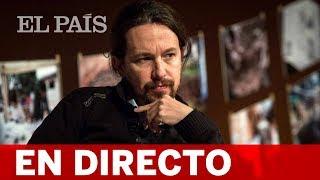 DIRECTO | PABLO IGLESIAS, entrevistado en HOY POR HOY de la CADENA SER
