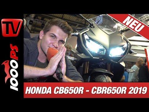 Honda CBR 650 R und CB 650 R 2019 - Vierzylinder Power in der Mittelklasse!