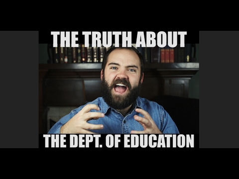 The Back Story: The Truth Behind the Dept. of education