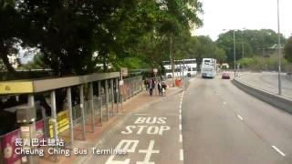 [Hong Kong Bus Ride] 九巴 S3N321 @ 43M 葵芳鐵路站-長青(循環綫) [全程行車影片]