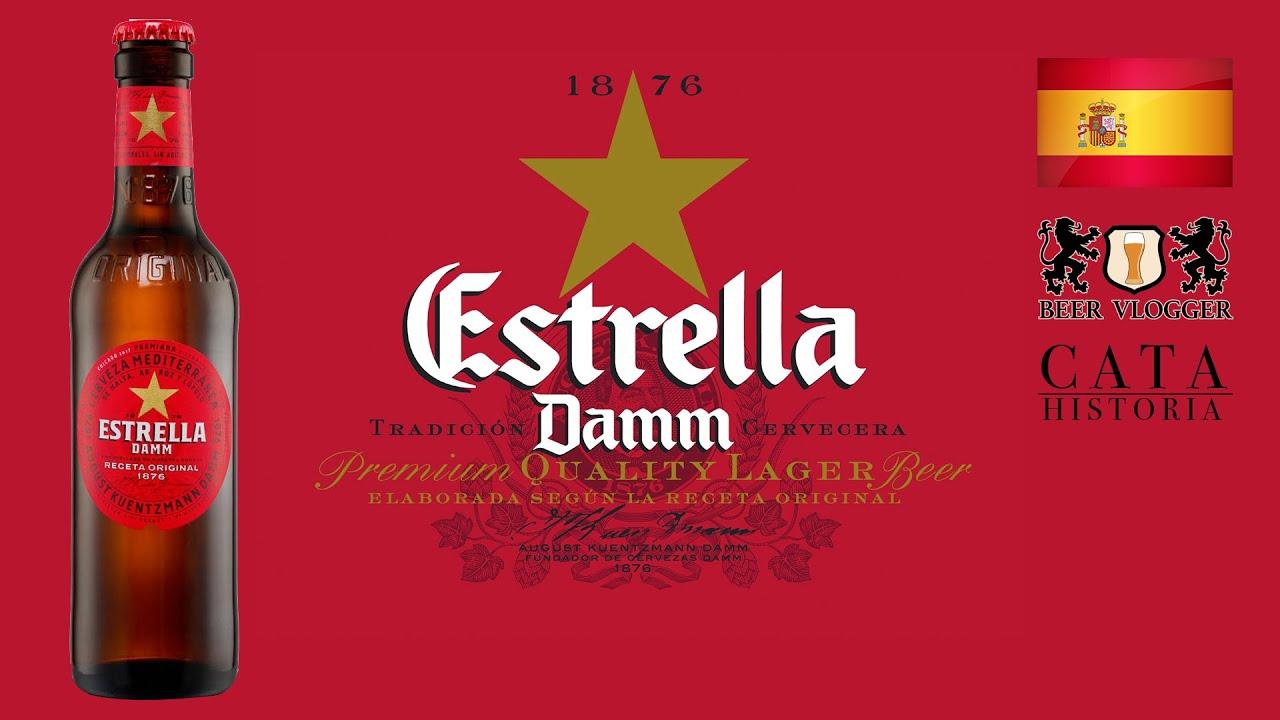 Cerveza ESTRELLA DAMM - Cata & HISTORIA