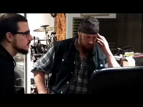 "SYNAPTIK Studio pt3 ""Ragin' Riffs, Studio Dog & Weirdness pt1"""