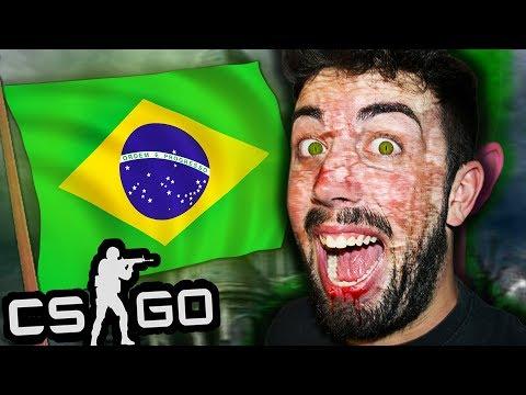 EL NIÑO ZOMBIE visita BRASIL Y TROLLEA en CS:GO MODS 😂