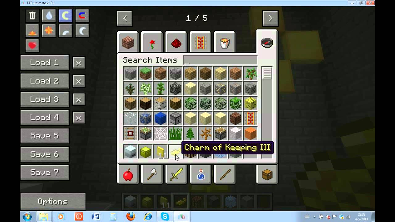 minecraft charm of keeping
