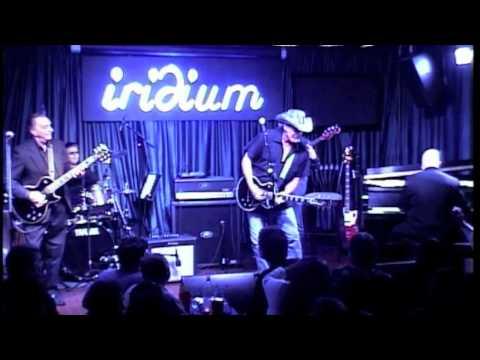 Ted Nugent  and The Les Paul Trio- Johnny B Goode- Les Paul Mondays at Iridium!