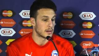 """Copa América 2015: Henríquez: """"Ellos y nosotros nos jugaremos la vida"""""""
