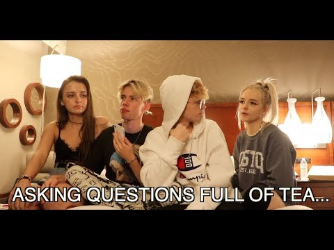 Asking OUR GIRLS Questions.. (TEA)