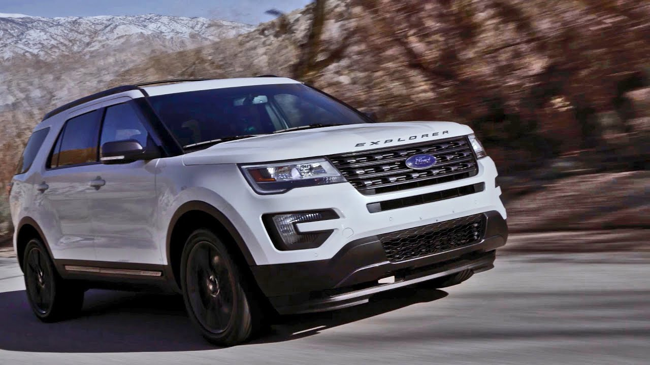 2017 ford explorer xlt sport appearance package youtube. Black Bedroom Furniture Sets. Home Design Ideas