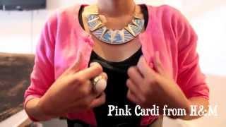 How to style a Black Dress (TEMT, Betts, H&M, Forever21, Steve Madden)