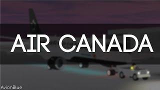 ROBLOX - France Air Canada - France Vol Embraer 175
