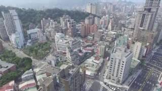 DJI Phantom 3 景美捷運站 空拍 2.7K高清