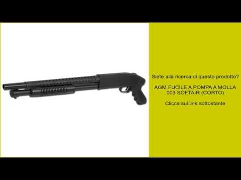 AGM FUCILE A POMPA A MOLLA 003 SOFTAIR (CORTO)