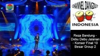 Reza Bandung   Debu Debu Jalanan   Konser Final 10 Besar Group 2