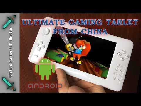"""Ultimate """" 7 inch """" Android Gaming Tablet / Portable Multi Retro Handheld / Package from China"""