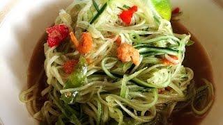 Spicy Asian Cucumber Salad !