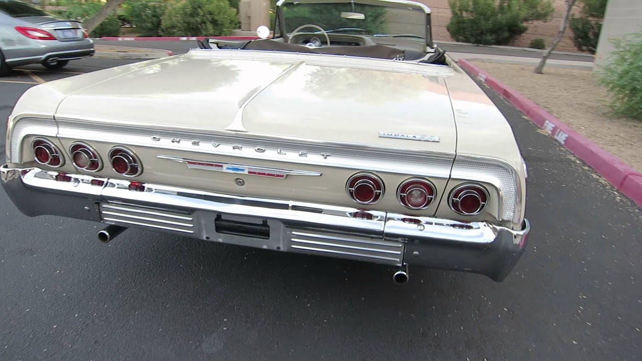 1964 chevrolet impala ss convertible original car for sale 480 205 5880 jsc motorcars youtube. Black Bedroom Furniture Sets. Home Design Ideas
