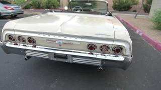1964 Chevrolet Impala SS Convertible Original Car for sale 480-205-5880 JSC Motorcars