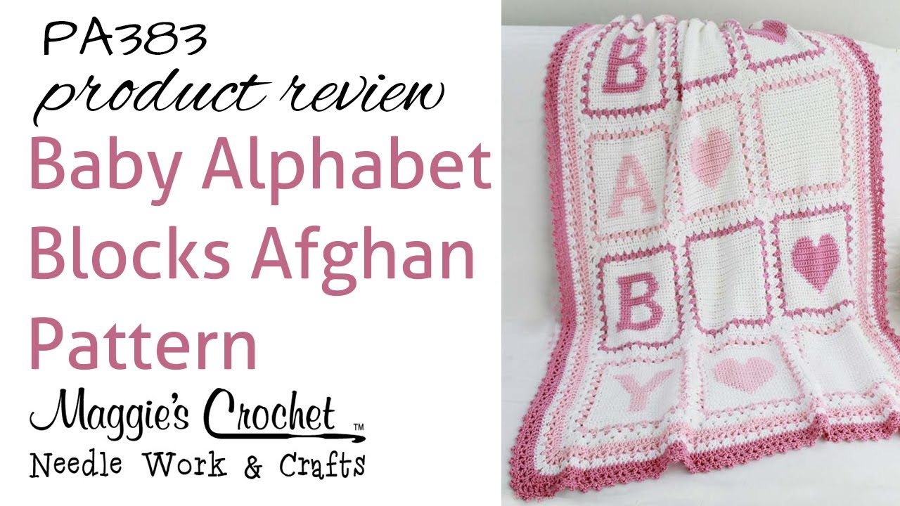 Alphabet Afghan Product Review Pb383 Youtube
