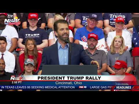 DONALD TRUMP JR: President's son RIPS on Joe Biden's son Hunter Biden