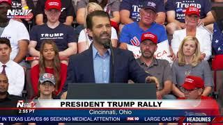 DONALD TRUMP JR: President's son RIPS on Joe Biden's son Hunter Biden
