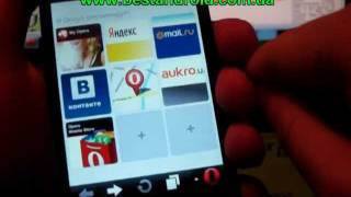видео free internet in opera mini any android smartphone !