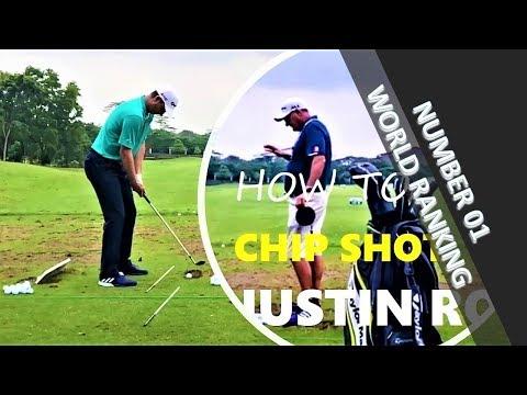 Justin Rose Chip Shot Indonesian Master 2017
