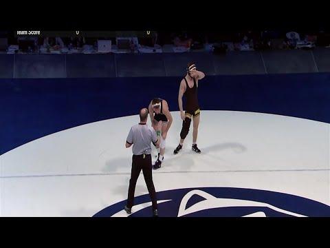 Big Ten Wrestling: 125 LBs: Iowa's Spencer Lee vs. Penn State's Carson Kuhn