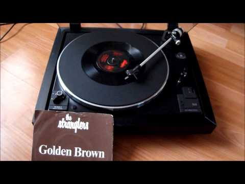 Golden Brown -The Stranglers -Original Vinyl -Dual CS 505-3 Turntable