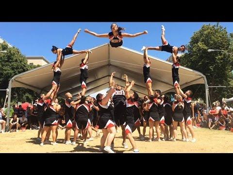 CHEER SF - DEBUT of 2015 Stunt Routine @ Sacramento Pride Festival
