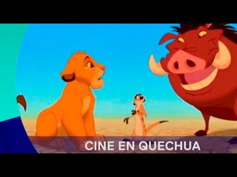 Películas de Hollywood han sido dobladas al Quechua