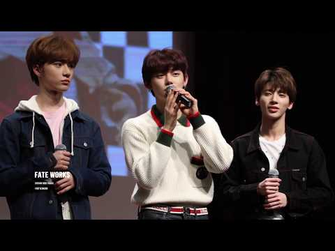 [TXT Yeonjun Fancam] 190306 High Touch Ending Ment - 투모로우바이투게더 연준